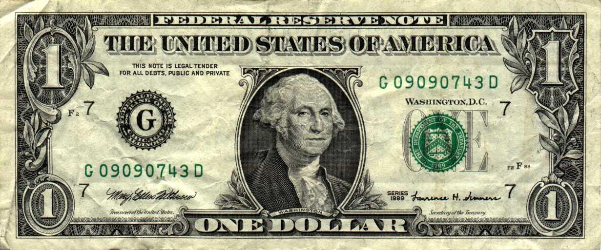 Satan On The Us Dollar