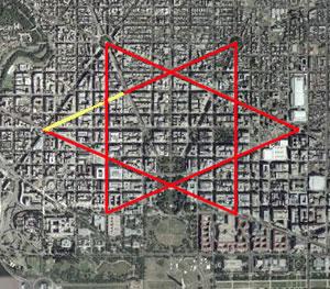 Satanic Occult Symbols in Washington D.C.