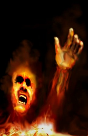 Tormented soul hell