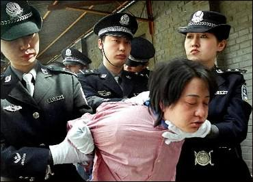 A Chinese woman is about to be executed in THE DEATH VAN!